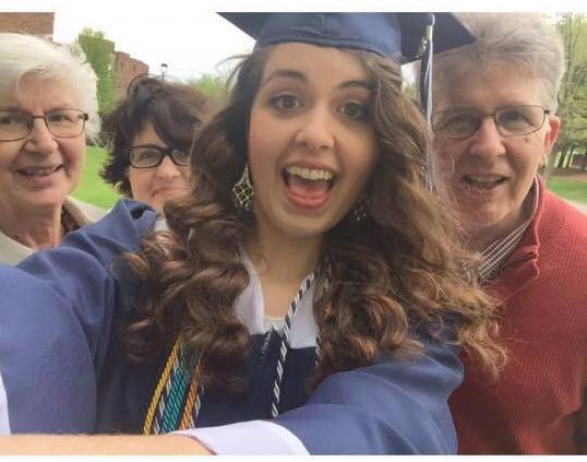 Tina Family Grad
